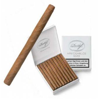 Davidoff Mini Cigarillos Silver-20er