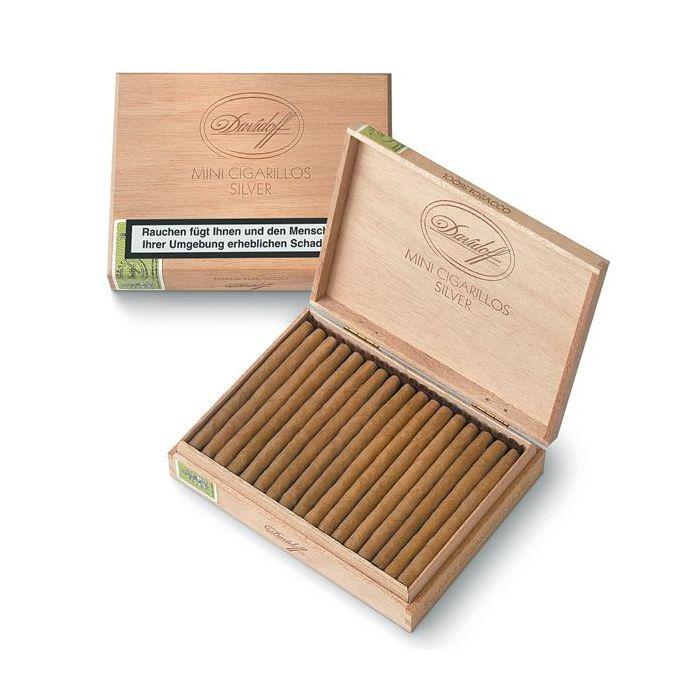 Davidoff Mini Cigarillos Silver-50er