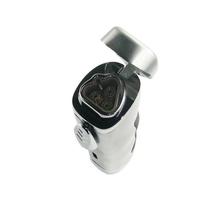 TC 3-fach Jet Zigarrenfeuerzeug - mit Bohrer - inkl. Gas
