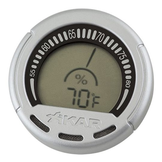 Xikar Digital Gauge Hygrometer