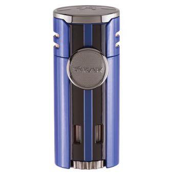 Xikar HP4 Jet Blue Feuerzeug 4 Flammen