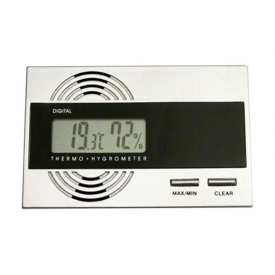 Hygrometer Digital - mit Montageset + Ersatzbatterie