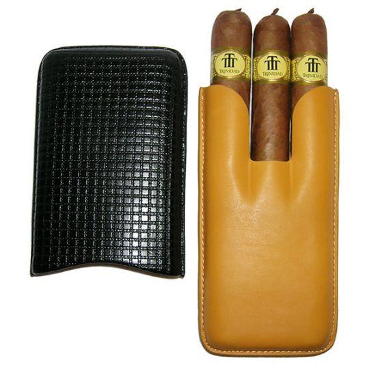 Trinidad Vigia + 3er Leder-Etui gelb-schwarz