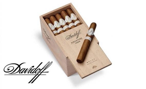 Zigarre des Monats  Davidoff Signature 2000  4er/5er/20er/25er - mit Zusatzrabatt