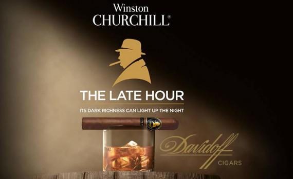 Zigarre des Monats  Davidoff Winston Churchill The Late Hour Toro  4er / 20er - mit Zusatzrabatt