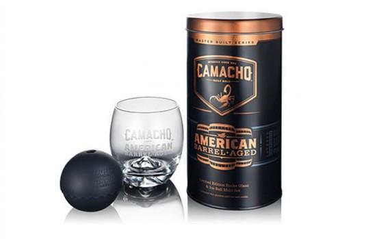 CAMACHO Scotch Glass-Set & Ice Balls  Promotion / Gratis  2 Scotch-Gläser +  2 Eisball-Formen