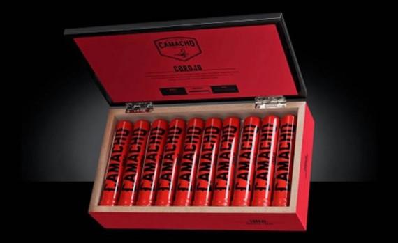 Zigarre des Monats  CAMACHO Corojo Robusto  4er/20er - oder im 10er Tubo/20er Tubo - mit Zusatzrabatt